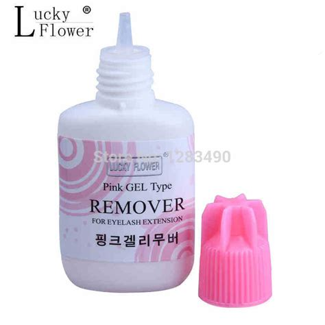 eyelash extension glue remover gel type for lashes 15ml made in korea scent in makeup scissors