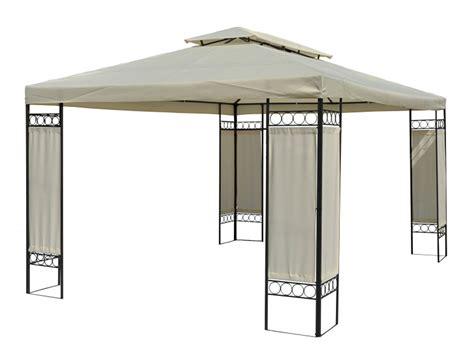 4x3 pavillon festlicher gartenpavillon gazebo mit entl 252 ftungsfunktion