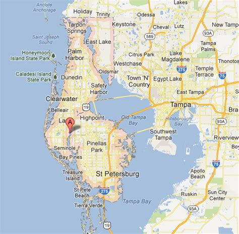 Search Pinellas County Florida Map Of Pinellas County Florida My