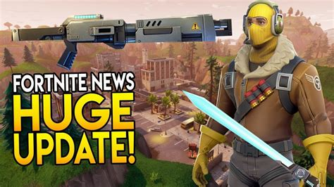 fortnite news next update quot new map cosmetics modes weapons