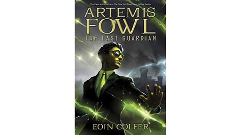 Artemis Fowl The Last Guardian book commercials artemis fowl is back