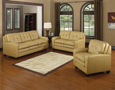 butterscotch leather sofa butterscotch bonded leather modern sofa loveseat set w
