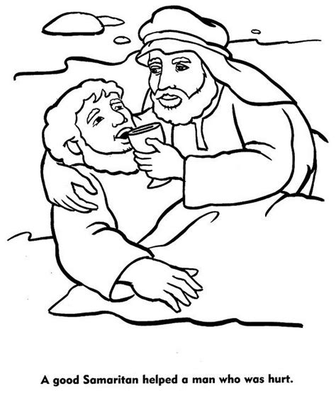 printable coloring pages of the samaritan the world s catalog of ideas