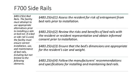 More Resources To Help You Get Acquainted With The New Regulations St Bed Rail Risk Assessment Template