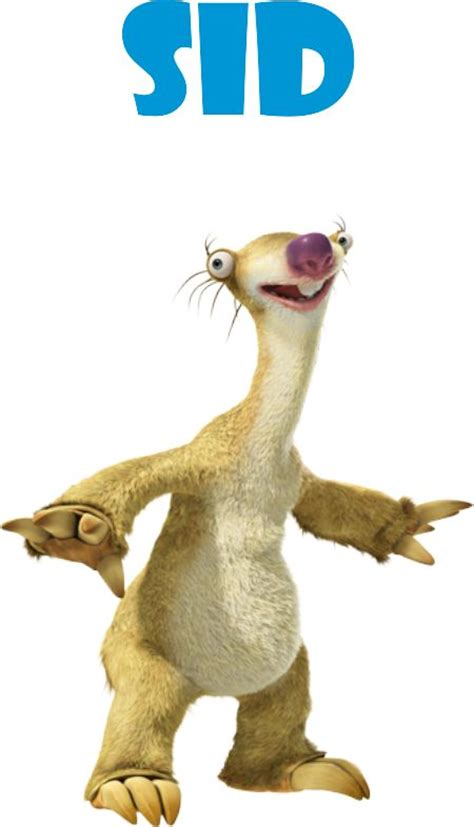 ice age western animation tv tropes sid ice age 4 continental drift funny ice age and love