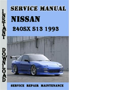 hayes auto repair manual 1995 nissan 240sx electronic throttle control 1993 nissan 240sx owners manual