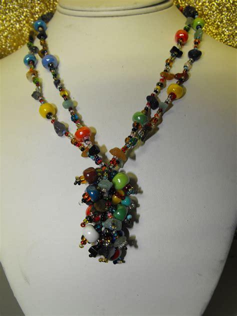 guatemalan beaded necklaces guatemalan artisan crafted glass bead necklace 2
