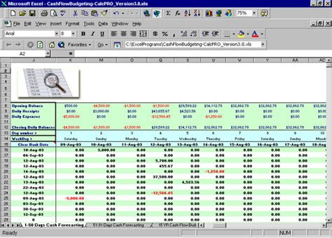 resource forecasting excel template excel flow budgeting