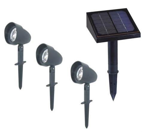 solar outdoor spot lights solar landscape spotlights 3 pack lighting academy