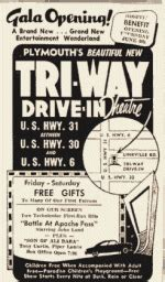 tri way drive in plymouth in directions to tri way drive in theatre plymouth indiana