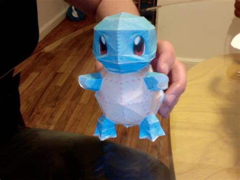 Origami Squirtle - squirtle papercraft by zombieeatflesh on deviantart