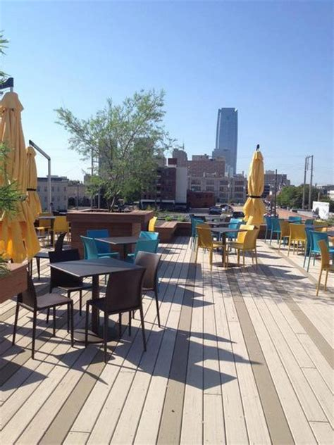deck boat okc packards new american kitchen rooftop patio yes okc