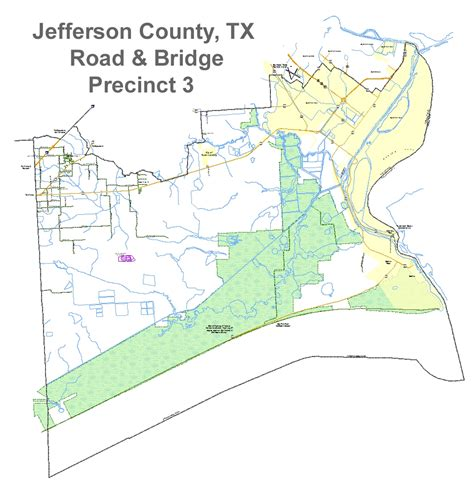 map of jefferson texas jefferson county texas commissioner precinct 3