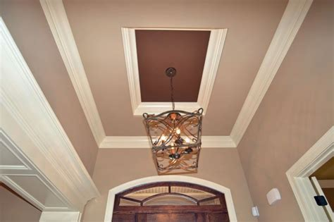 foyer ceiling oak hill foyer tray ceiling specialty ceiling treatments