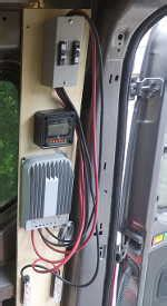 Mattress Combiner - solar controller breaker box cargovanconversion