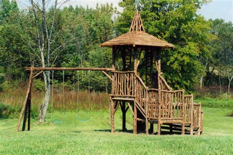 wood swing sets for sale rustic tree towers wood swing sets custom play forts