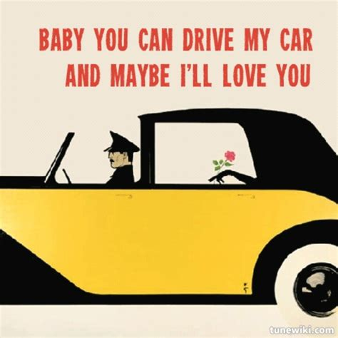 drive my car lyrics the beatles drive my car 1965 album rubber soul song