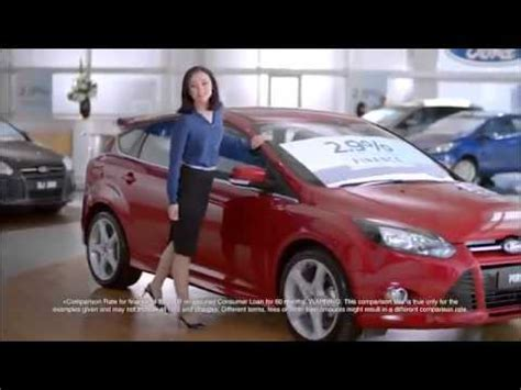 ford commercial actress australia girl in blue ford australia 2 9 p a comparison rate tv