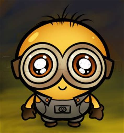 imagenes kawaii minions minions chibi and how to draw on pinterest