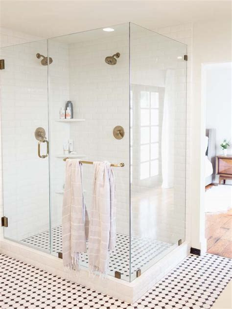 shower before bed before after a master bed bath makeover design