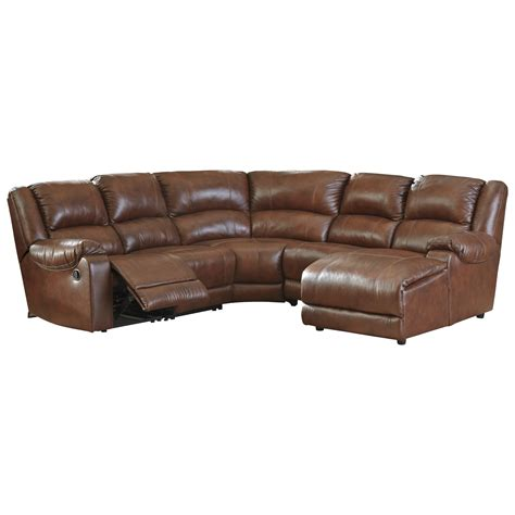 ashley furniture leather chaise ashley signature design billwedge leather match reclining