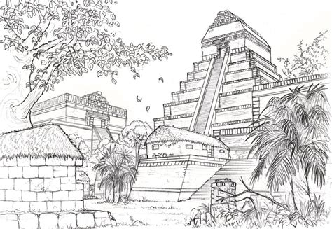 Civ 5 Sketches by Mayan City By Longjh On Deviantart