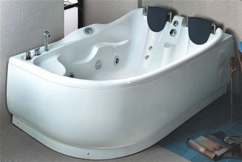 Thermostatic Bath Mixer Shower whirlpool bath for two people left hand 1800x1200mm