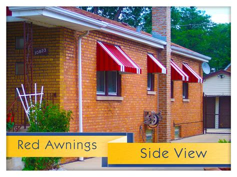 red awning awning replacement cox uhlmann home improvement