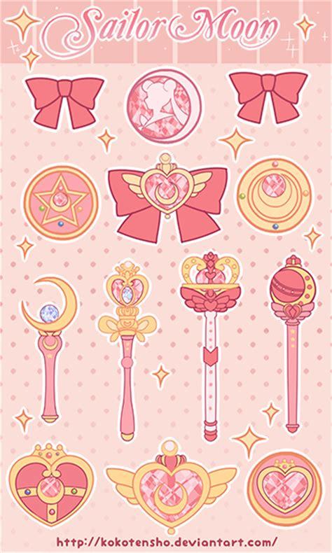 heroine locker wallpaper sailor moon stickers by kokotensho on deviantart