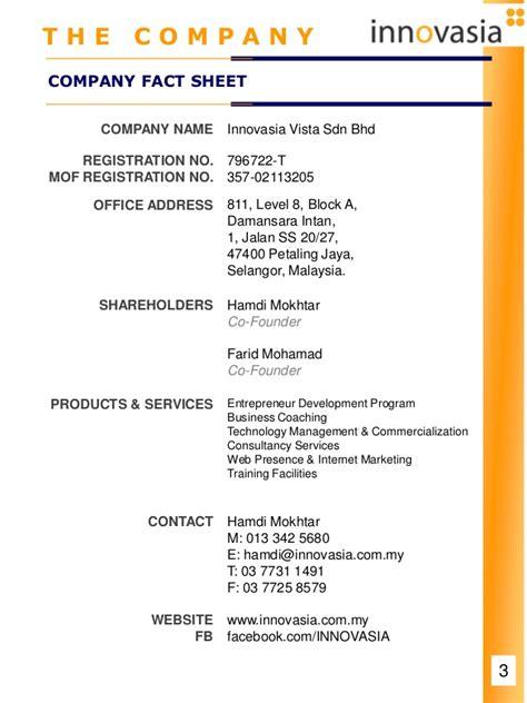 company profile design price in malaysia innovasia company profile