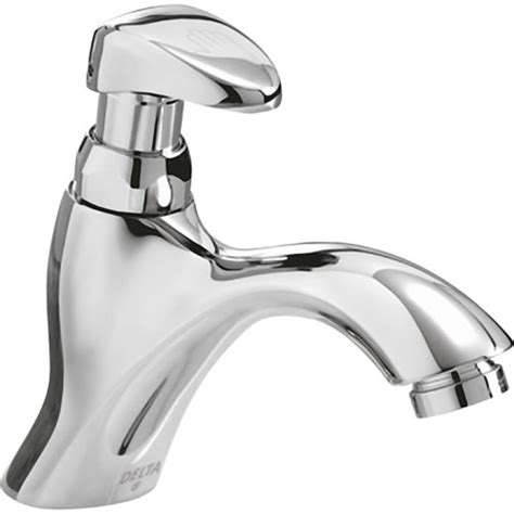 Delta Commercial Faucet Parts by Delta Commercial 87t111 Ada Lever Metering W Mixing T