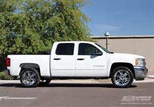 2011 chevrolet silverado 1500 with 22 quot avenue a607 in