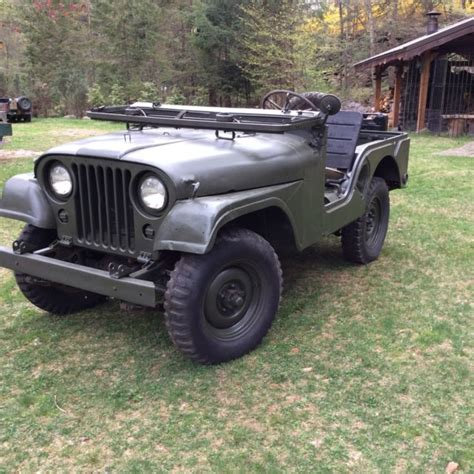 1952 Willys Jeep 1952 Willys M38a1 Jeep For Sale Willys 1952 For