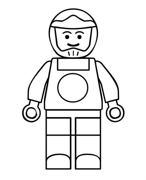lego man coloring coloring pages