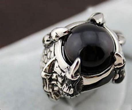 Batu Cincin Berwarna Hitam harga batu cincin hitam hitam putih