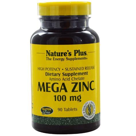 Sale Nature S Plus Mega B 100 S R 60 Tabs Produksi Energi Alami nature s plus mega zinc 100 mg 90 tablets iherb