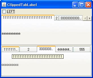 java swing guide java swing tips horizontally fill tabs of a jtabbedpane