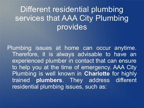 Plumbing Reviews by Aaa City Plumbing Reviews Why Trust Us