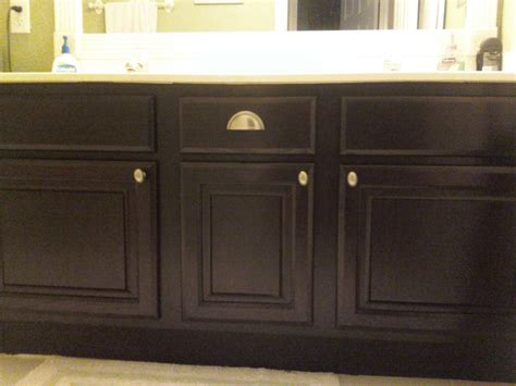 Bathroom Vanity Refacing Bathroom Vanity Cabinet Refinishing By Linda