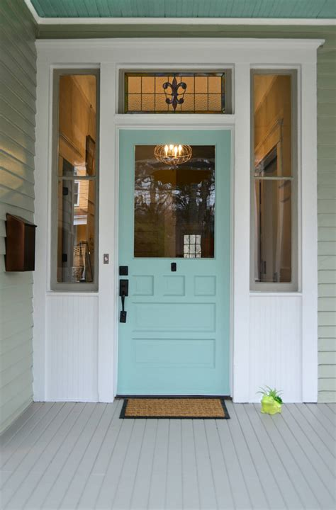 what color to paint front door turquoise and blue front doors with paint colors