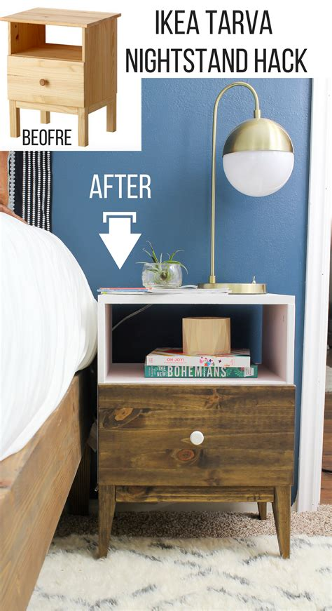 super unique ikea hacks you didn t know you needed page ikea tarva nightstand hack hawthorne and main