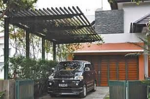 idea eksterior carport cantilever carport