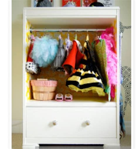 Dresser Into Dress Up Wardrobe by Musely
