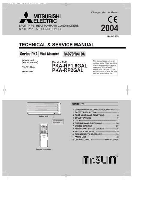 mitsubishi r410a wiring diagram wiring diagram