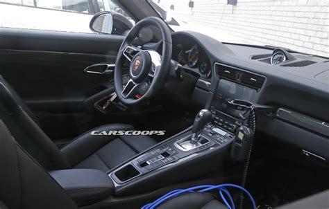 porsche 901 concept interior porsche 911 foto spia di carrozzeria e interni