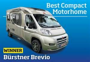 Air Awnings For Caravans Southdowns Motorhome News Burstner Brevio Best Compact
