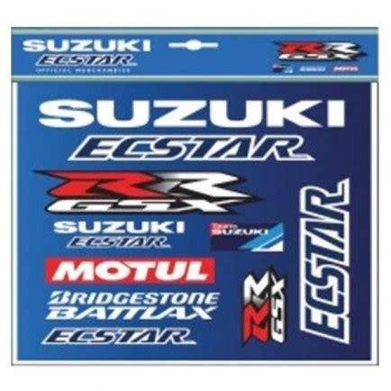 Moto Gp Aufkleber Set Suzuki by Sticker Set Suzuki Ecstar Motogp La Boutique Moto