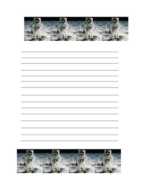 writing paper with picture space space themed writing paper by groov e chik teaching
