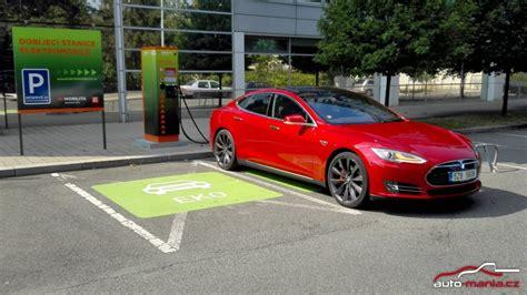 Does Tesla Test Test Elektromobilu Tesla Model S P90d