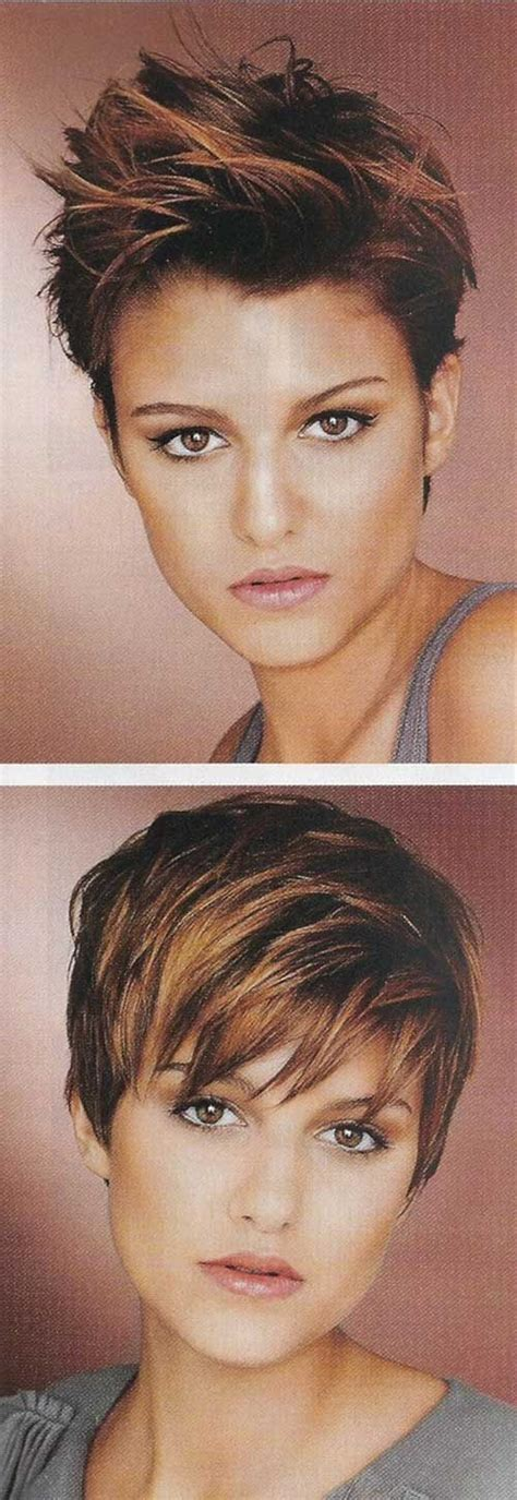 highlight a pixie cut copper highlights on brown hair projekter jeg vil pr 248 ve